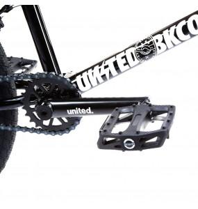 "Rower BMX United Recruit JR 20"" Black"