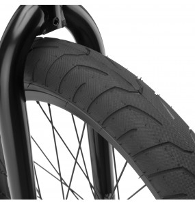 Rower BMX Kink Gap Gloss Black Chrome
