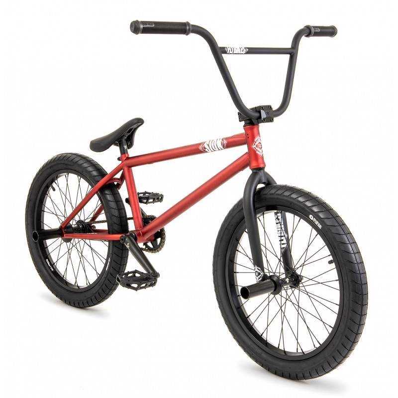 Rower BMX Flybikes Sion'21 Flat Metalic Red