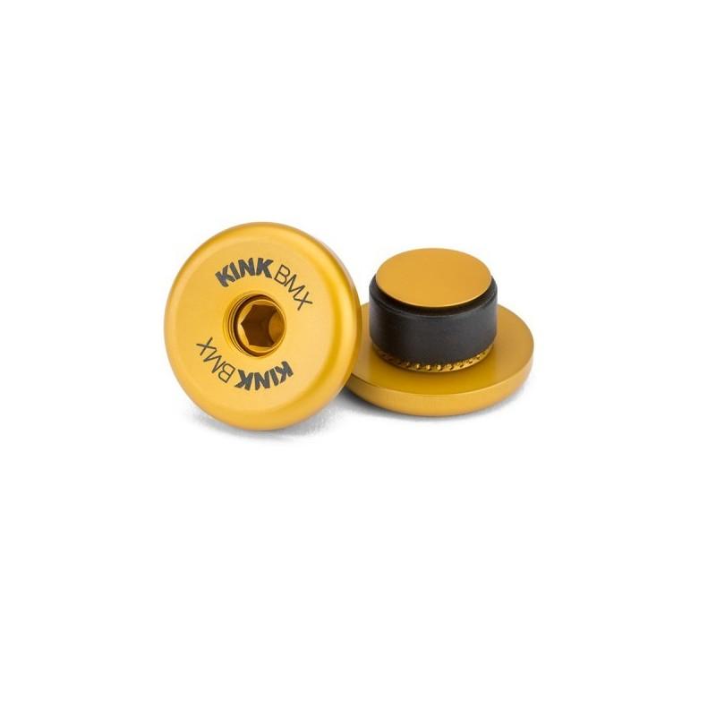 Korki do kierownicy Kink Ideal 31mm złote