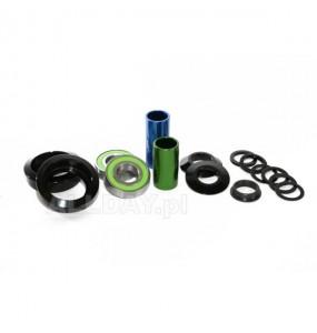 Zestaw łożysk DK MID/USA BB 22mm (czarne)